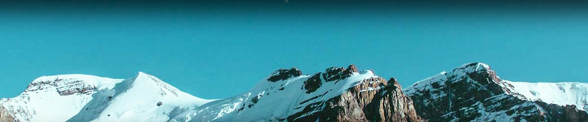 Snowy Mountain Background
