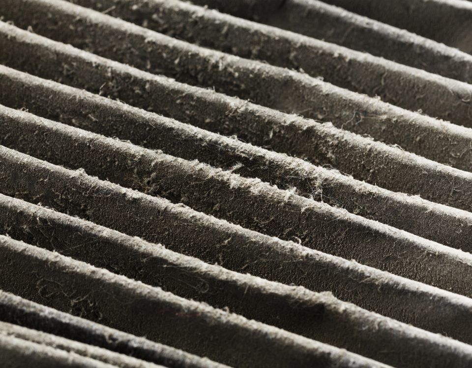 Dirty Air Filter - HVAC Service Spokane